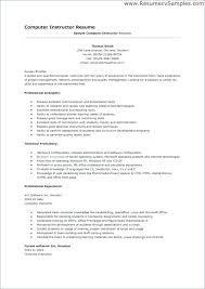Technical Proficiency Resumes Computer Programs For Resume Dessert Software Skills List