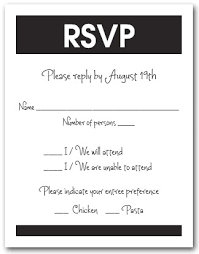 12 things rsvp does not mean