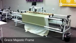Grace Company Majestic Machine Quilting Frame - Free Speed Control ... & Grace Company Majestic Machine Quilting Frame - Free Speed Control Adamdwight.com