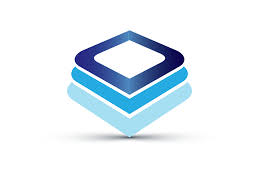 Design Free Logo: Layered Squares online Logo Template