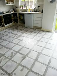 paint for tile floorspainted tile floorno really  Make Do and DIY