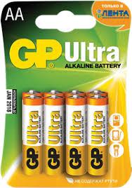 <b>Элемент питания GP</b> АА Ultra – купить в сети магазинов Лента.