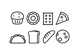 パンとベーカリーイラスト 素材素材無料ダウンロードデザイン用