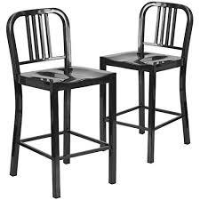 outdoor counter height stools. 2 Pk. 24\u0027\u0027 High Black Metal Indoor-Outdoor Counter Height Stool Outdoor Stools O