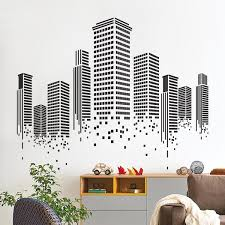office wall decal. Urban Wall Decal Sticker Office F