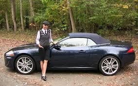2011 Jaguar XK Convertible Test Drive & Car Review - RoadflyTV ...