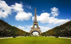 grass and sky backgrounds. 1920x1200 Wallpaper City, Paris, France, Tower, Grass, Sky Grass And Backgrounds