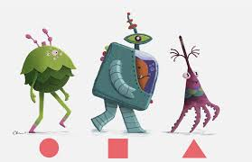 Character Design Shapes Cgma Character Design For Animation