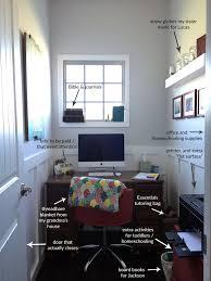closet office. Anatomy Of A Tiny {closet-sized} Office Closet E