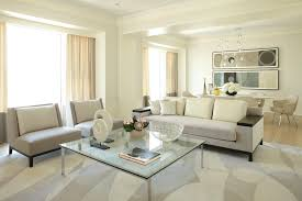 Square Glass Coffee Table Living Room Contemporary With Area Rug Artwork  Curtains. Image By: Jessica Lagrange Interiors