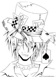 Anime Boy Coloring Pages Boys Anime Color Pages Anime Boy And Girl