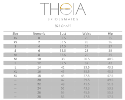 Theia Dress Size Chart Best Picture Of Chart Anyimage Org
