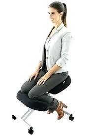 kneeling office chair. Stunning Kneeling Office Chair Ergonomic Posture To Reduce Lower Back Pain