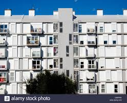 Modern Apartment Building Facade Stock Photo Royalty Free Image