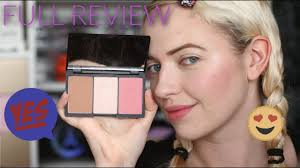 sleek makeup face form contour and blush palette pale skin idle