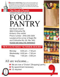 Old South United Church Of Christ Food Pantry
