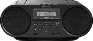 boomboxes best buy sony cd boombox black front zoom