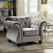 Furniture of America Jolanda 3 Piece Living Room Colleciton