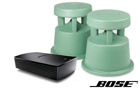 bose outdoor speakers. this package includes the bose soundtouch sa5 amplifier plus a set of freespace 51 outdoor speakers