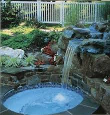 Relaxing garden backyard waterfalls Pondless Water Relaxing Garden And Backyard Prolandscape Landscaping Ideas 25 Small Backyard Waterfall Landscaping Pictures And Ideas On Pro