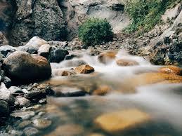 Resultado de imagen de montaña con río hasta el mar