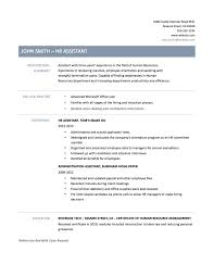Human Resources Assistant Resume Examples Resume For Hr Admin Assistant RESUME 22