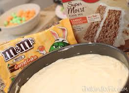 White Chocolate Cheesecake Swirled Carrot Cake Kim Six Foodie Fix