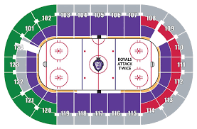Royals Seating Chart An Evening With The Reading Royals
