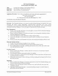 Event Management Resume Format Lovely Coffee Shop Manager Resumes