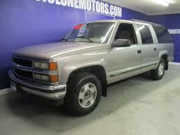 1999 Used Chevrolet Suburban 4X4 V-8 MOTOR READY FOR YOUR SUMMER ...