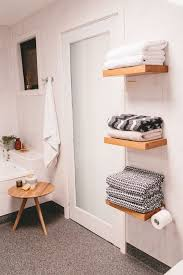 25 smart bathroom towel storage ideas