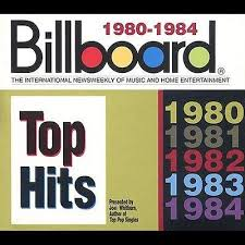 Billboard Top Hits 1980 1984 Box By Various Artists Cd Jun 1995 5 Discs Rhino Label