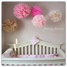 Pom Pom Decorations Cherry Blossom Tissue Paper Pom Poms Nursery Decor Party