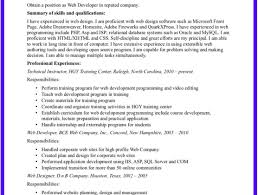 100+ [ Web Development Resume ] | Sample Resume Of Experienced ...