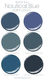 True Blue Paint Color Tried And True Nautical Blue Paint Colors Coastal Colors Room