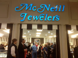 mcneill jewelers new location grand opening