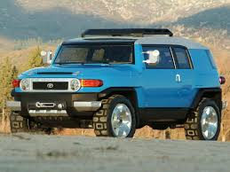 Toyota FJ Cruiser Concept (2003) – Old Concept Cars