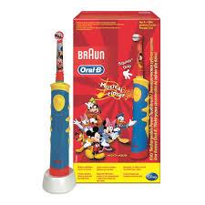 Детская электрическая аккумуляторная <b>зубная щетка</b> Oral-B ...