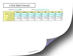 12 month 12 month sales forecast