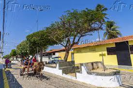 Folhapress - Fotos - Charretes são o principal meio de transporte no  município de Galinhos (RN)