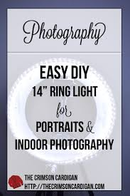 diy ring light an affordable and safer option compared to fluorescent ring lights