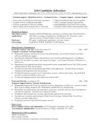 Technical Support Engineer Resume Format Awesome Tech For Desktop
