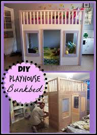 teen walk in closet.  Walk DIY Playhouse Bunkbed With Teen Walk In Closet