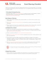Event Planning Checklist Pdf 125 Printable Event Planning Checklist Forms And Templates