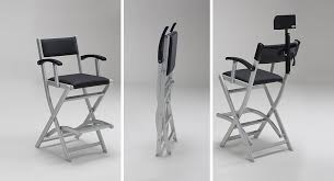 pliable makeup chair makeup director chair with headrest transportable makeup artist chair