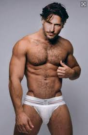 Young gay hairy man