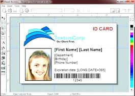 Work Identity Card Id Card Template By Employee Psd File Free Download Vertical T