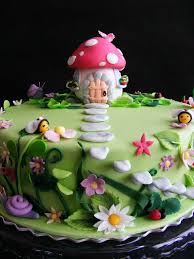 Small Picture This is a fairy cake for a fairy themed birthday party for a 5