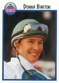 Amazon.com: Donna Barton trading card (Horse Racing) 1997 Jockey Star #37:  Sports Collectibles