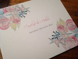 guest book cover